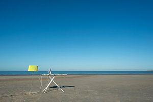 Strijken op het strand van