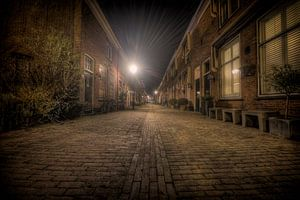 Straat in Oud-Voorburg van