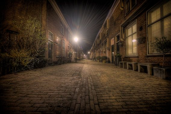 Straat in Oud-Voorburg