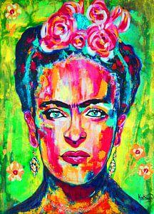 """Frida Kahlo """"Leuchtend"""""""