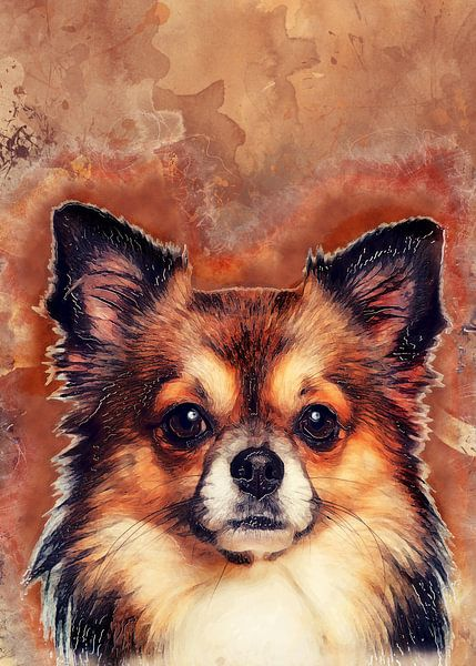 Hund 11 Tiere Kunst #Hund #Hunde von JBJart Justyna Jaszke