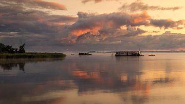 Zomerochtend aan het Zuidlaardermeer van Marga Vroom