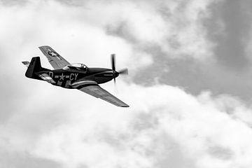 Nordamerikanische P-51D Mustang von Robbert De Reus