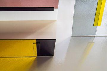 grafischer Glasdruck von Francisca Snel