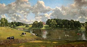 Wivenhoe Park, Essex, John Constable