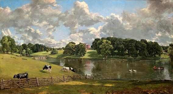 Wivenhoe Park, Essex, John Constable van Liszt Collection