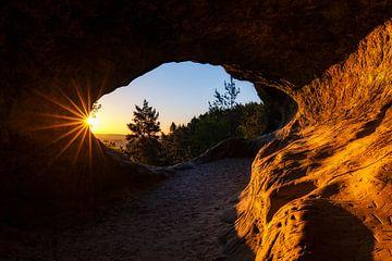 grotte ensoleillée sur Daniela Beyer