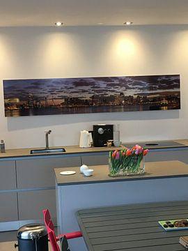 Kundenfoto: Schöner bewölkter Himmel über Rotterdam Panorama
