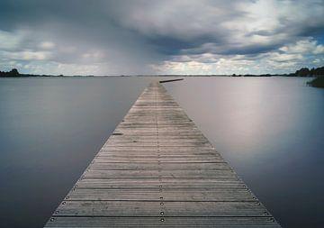 Lake near Zuidlaren von Arjen Dijk