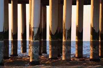 De pier & zee zijn samen één van Zoë Barreto