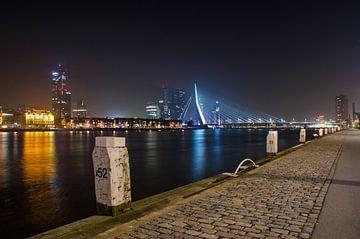 Erasmus Bridge from post 52 sur Ricardo Bouman | Fotografie