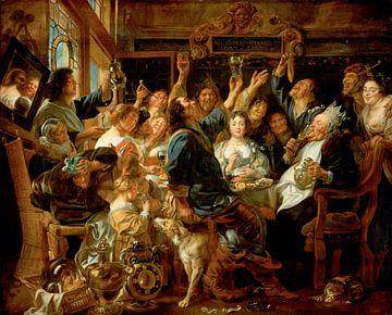 La fête du roi des haricots, Jacob Jordaens sur