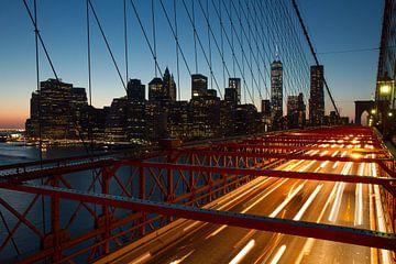 Brooklyn Bridge van Edwin Hendriks
