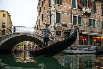 Het idyllische stadgezicht van Venetië von Jeroen Somers