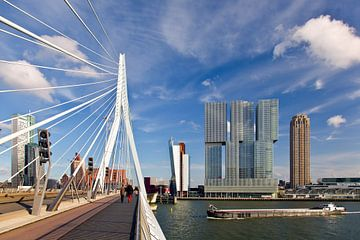 Erasmus-Brücke und das Rotterdam von Anton de Zeeuw