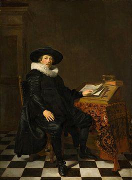 Porträt eines Gelehrten, Thomas de Keyser