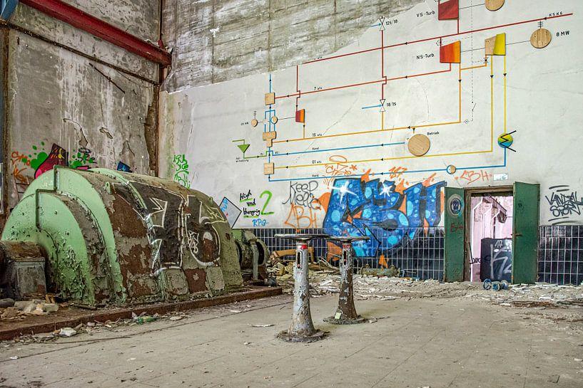 die Fabrikhalle von Nadine Rall