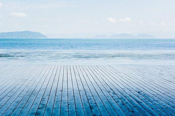 Een zee van blauw
