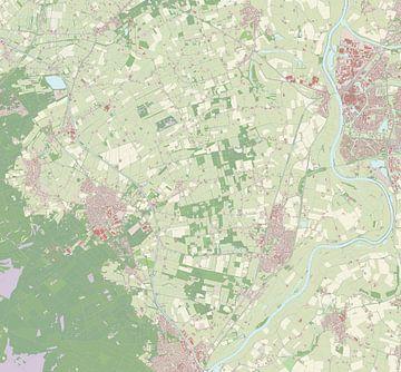 Kaart vanBrummen