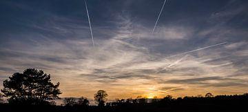 Zonsondergang Posbank von Jamie Lebbink