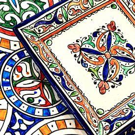 Marokkaanse tegels van Jaap Ros