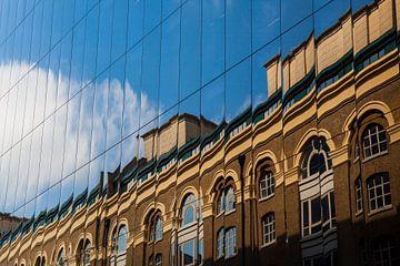 Reflecterend Londen van Vincent van den Hurk
