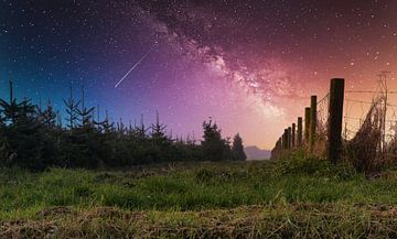 Grüner Weg zur Galaxie 2 von J..M de Jong-Jansen