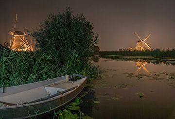 Lichtwoche - Kinderdijk von Rossum-Fotografie