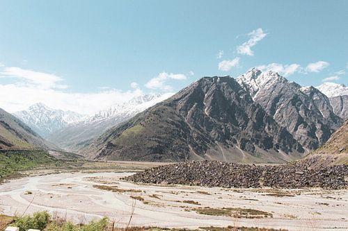 Maanlandschap in Ladakh