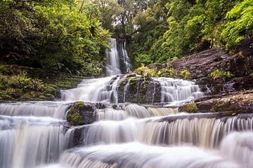 McLean Falls, Nieuw Zeeland von Jasper den Boer