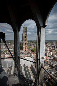 Uniek standpunt op de Domtoren in Utrecht van