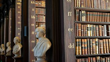 Trinity College Bibliotheek van Terry De roode