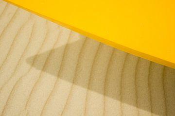 Geometric yellow van Yana Spiridonova