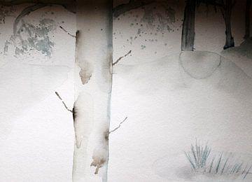 Winterbäume von M.A. Ziehr