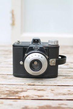 Vintage fotocamera van