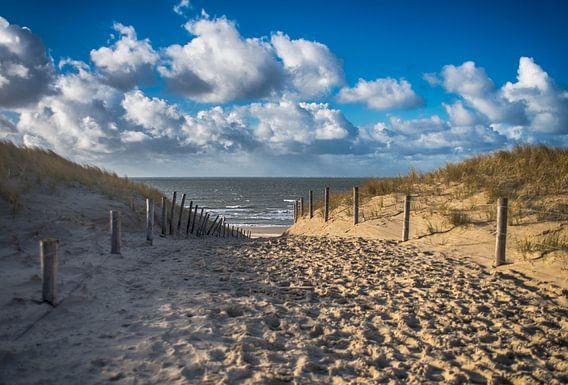 lets walk to the beach.  Strandopgang - Strandovergang