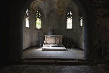 Urbex Kentschool Church Duitsland van Danique Verkolf
