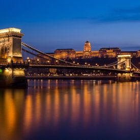 Kettenbrücke, Budapest von Adelheid Smitt