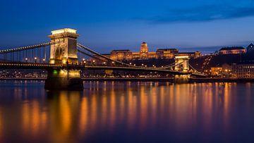Ketting Brug, Boedapest van Adelheid Smitt