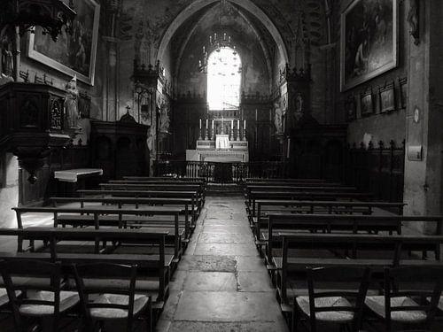 Stilte in de kerk