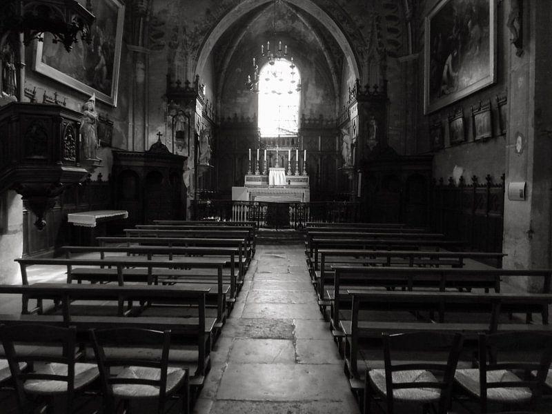 Stilte in de kerk van R. de Jong