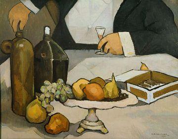 Charles H. Walther-Früchte und Flaschen
