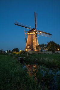 Verlichte molens Kinderdijk #3