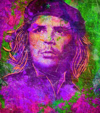 Che Guevara Pop Art PUR Serie  van Felix von Altersheim