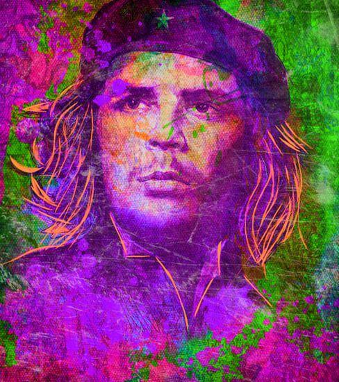 Che Guevara Pop Art PUR Serie