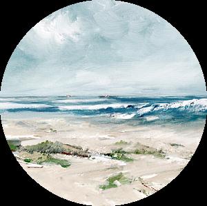 Hallig (North-Sea) van Andreas Wemmje