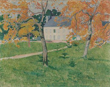 Émile Bernard-Haus zwischen Bäumen Pont-Aven