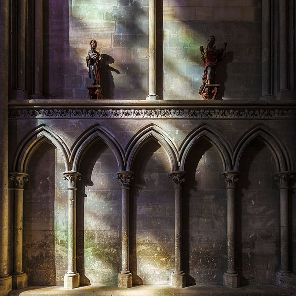 Bayeux kathedraal Notre-Dame Frankrijk van Rob van der Teen