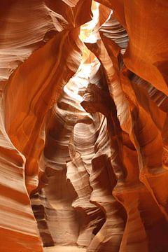 Antelope Canyon sur Barbara van Biezen