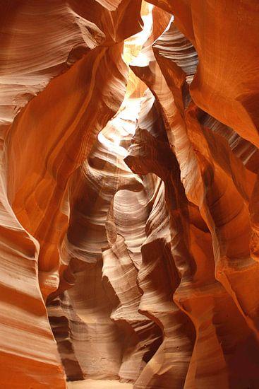 Antelope Canyon van Barbara van Biezen